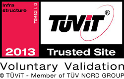 Hier finden Sie detaillierte Informationen zum TÜViT-Zertifikat