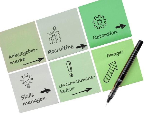 Mitarbeiterbindung auf Basis eines effektiven Skillmanagements